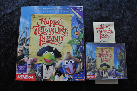 Muppet Treasure Island Big Box PC Game - Standaard