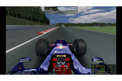 RFactor Mod F1 2009 PC Gameplay HD - YouTube