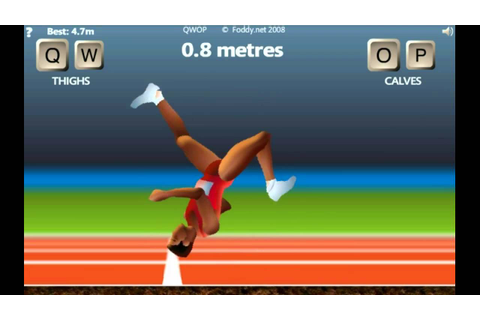 360 backflip in QWOP - YouTube