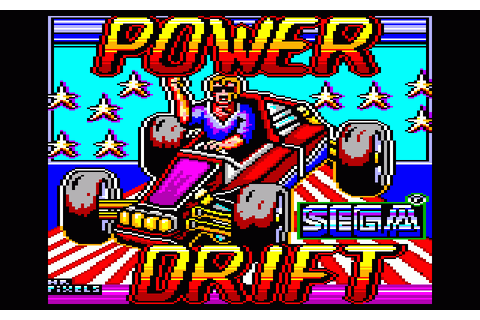 Power Drift (1989) by Activision Amstrad CPC game