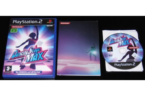 Dancing Stage Max (PS2 Dance Mat Game) MINT DISC ...