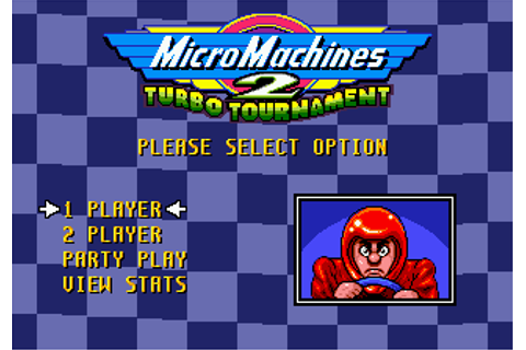 Play Micro Machines 2 - Turbo Tournament Sega Genesis ...