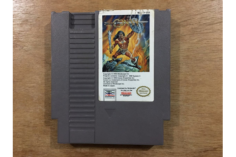 Conan The Mysteries Of Time Para Nintendo / Nes Buen ...