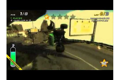 Smash Cars PS3 Game Play - YouTube