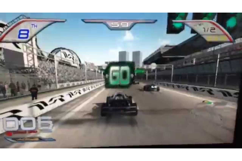 Let's Play Twisted Nitro Stunt Racing Arcade Video Game at ...