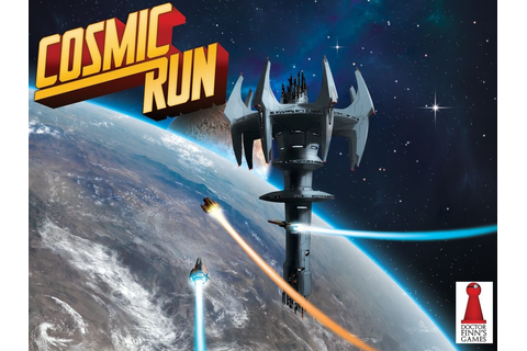 Cosmic Run | Cosmic, Board games, Space race