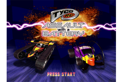 Play Tyco R-C - Assault with a Battery Sony PlayStation ...