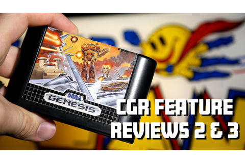 CGR Feature Reviews of Herzog Zwei & Super Pac-Man by ...