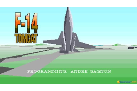 F-14 Tomcat (1988) gameplay (PC Game, 1988) - YouTube
