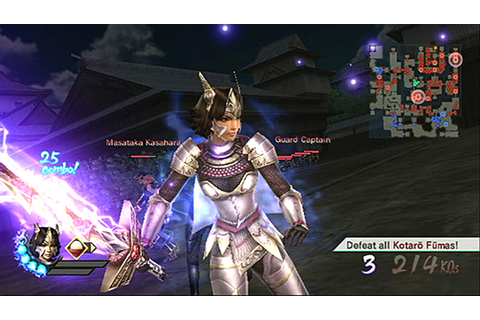 Samurai Warriors 3 › Games-Guide