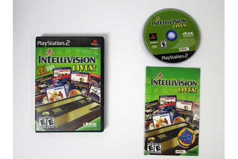 Intellivision Lives game for Playstation 2 (Complete ...