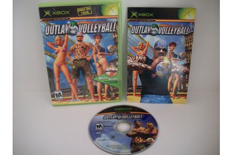 Outlaw Volleyball - Xbox Game, Just Go Vintage
