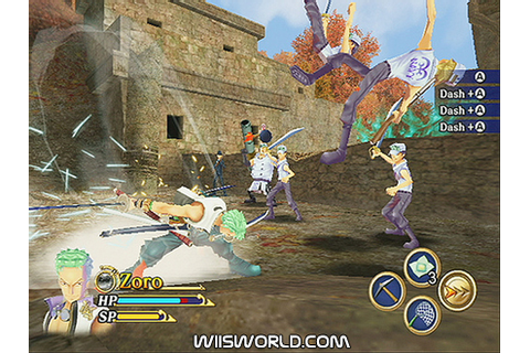 One Piece Unlimited Adventure on Wii