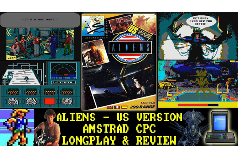 [AMSTRAD CPC] Aliens (The Computer Game) US Version ...