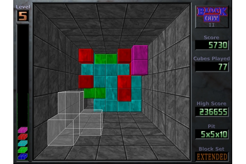 3d View Picture: 3d Tetris