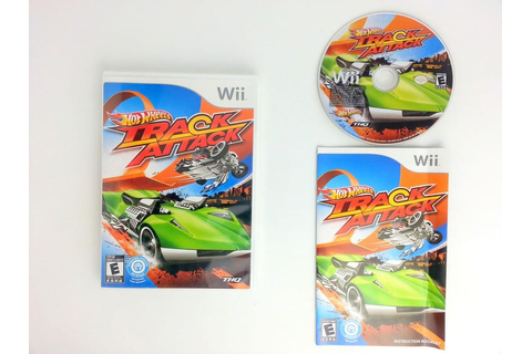 Hot Wheels: Track Attack game for Wii (Complete) | The ...