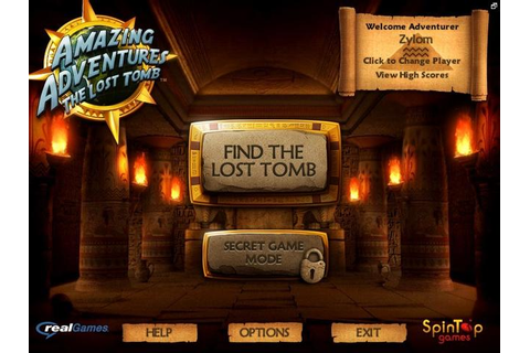 Amazing Adventures The Lost Tomb | GameHouse
