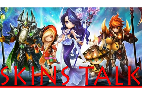 Summoners War - Skins & Stuff - YouTube