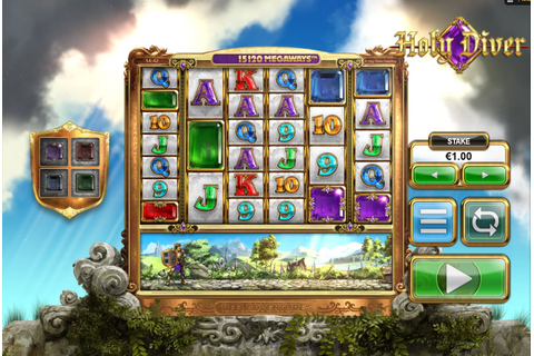 Holy Diver slot (Megaways) from Big Time Gaming online play