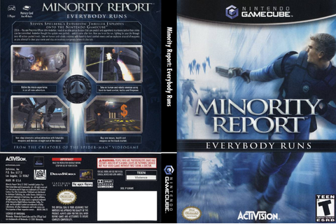 GMWE52 - Minority Report: Everybody Runs