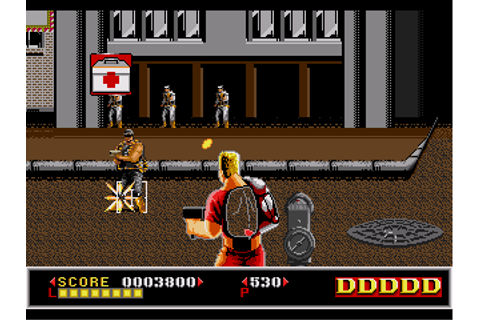 Dynamite Duke - Download - ROMs - Sega Genesis/Sega ...