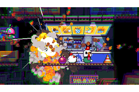 Explosive platformer Bomb Chicken announced for Switch, PC ...