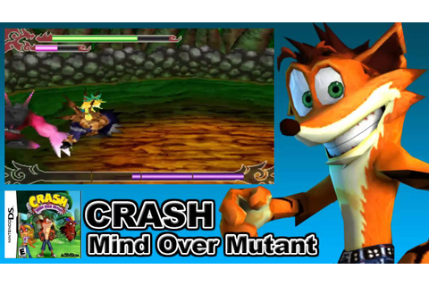 Crash mind over mutant DS (Portable) - YouTube