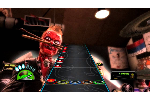 Guitar Hero Metallica Fuel Bateria Experto - YouTube