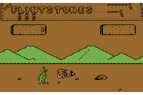 Flintstones: Yabba Dabba Doo (1986) by Quicksilva C64 game