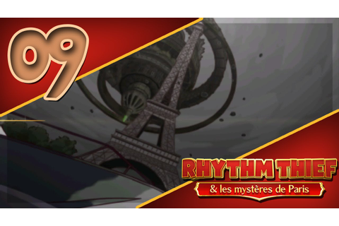 Rhythm Thief et les Mystères de Paris on Qwant Games
