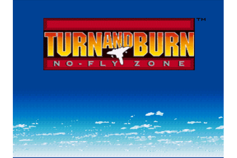 Turn and Burn - No-Fly Zone (USA) ROM