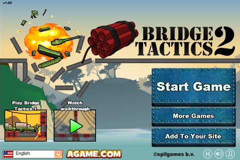 Bridge Tactics 2 - Funny Car Games
