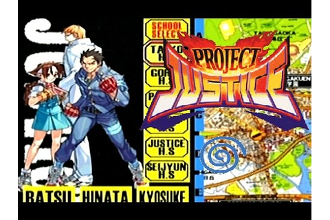 Project Justice: Rival Schools 2 playthrough (Dreamcast ...