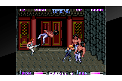 Arcade Archives DOUBLE DRAGON II The Revenge on PS4 ...
