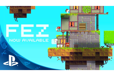 FEZ on PS4, PS3, and PS Vita - Official Launch Trailer ...