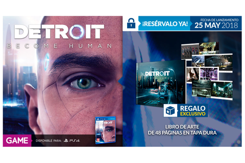 Libro de arte exclusivo al reservar Detroit Become Human ...