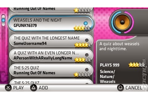 Buzz The Ultimate Music Quiz | Psp Games Free Download
