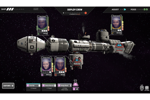 Tharsis review: The exploding, cannibalistic space station ...