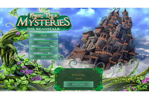 Fairy Tale Mysteries 2: The Beanstalk Gameplay | HD 720p ...
