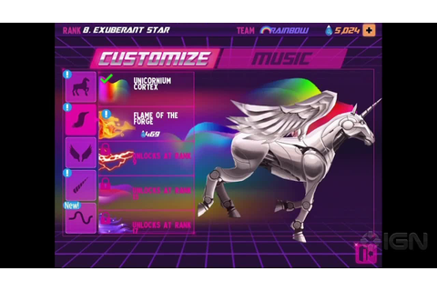 You Have to Play Robot Unicorn Attack 2 - YouTube