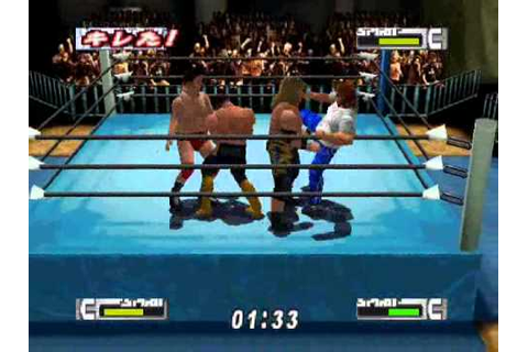 Virtual Pro Wrestling 2-Match 5 - YouTube