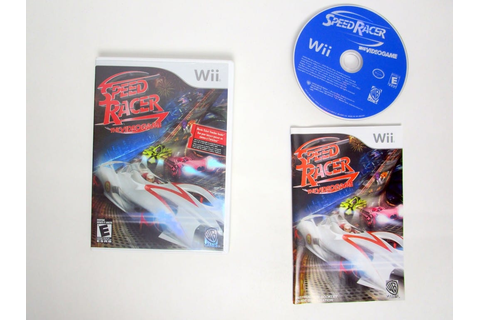 Speed Racer Video Game game for Nintendo Wii | The Game Guy