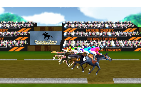 Virtual Horse Racing Champion - Horse Games Online