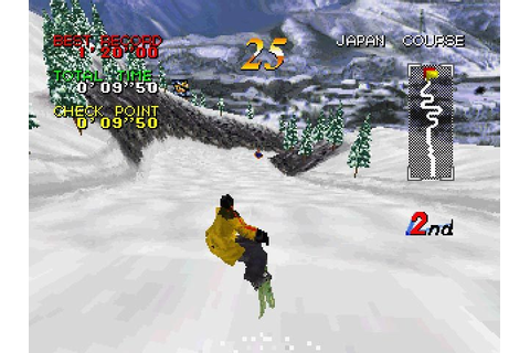 Zap! Snowboarding Trix (1997) by Pony Canyon Saturn game