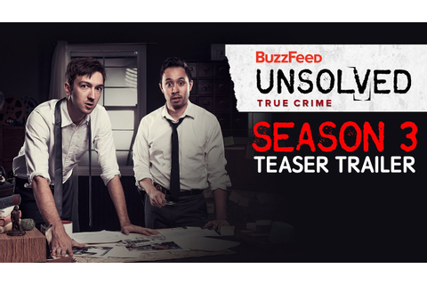 Unsolved True Crime Season 3 Trailer - YouTube