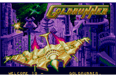 Goldrunner (1987) by Microdeal / Michtron Atari ST game