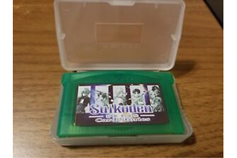SUIKODEN Card Stories Game Boy Advance GBA English ...