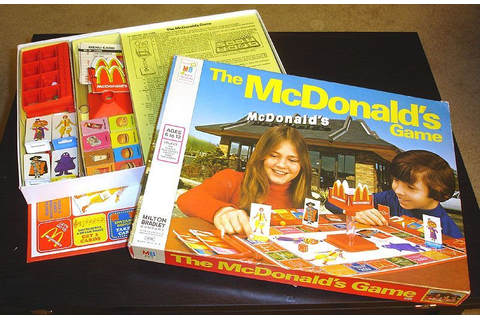 The McDonald's Game | Image | BoardGameGeek