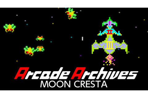 Arcade Archives MOON CRESTA - YouTube