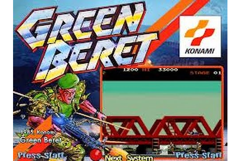Green Beret (Arcade) - YouTube